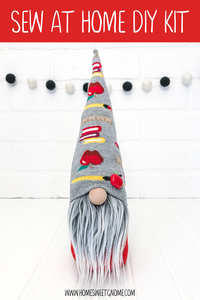 DIY Teacher Gnome Making Kit - SEW AT HOME