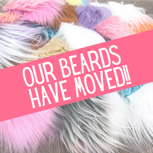 Our beards have MOVED! See the listing description for details!