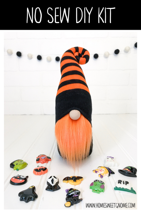 LAST CHANCE!! DIY Mystery Charm Halloween Gnome Making Kit - NO SEW KIT