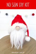 Load image into Gallery viewer, DIY December Gnome of the Month -  Gnome Making Kit - NO SEW KIT