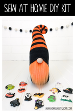 Load image into Gallery viewer, LAST CHANCE!! DIY Mystery Charm Halloween Gnome Making Kit - SEW AT HOME