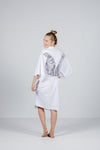 ROBE - White with White Wings