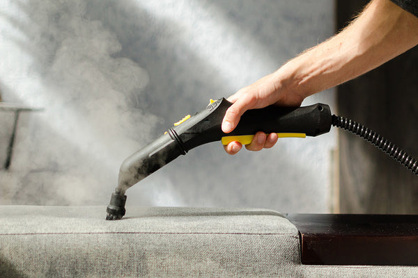 Dry Vapor Steam Cleans and Deodorizes without Chemicals