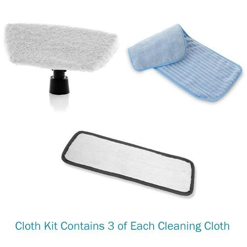 Brio 250CC Steam Cleaner Cloth Kit