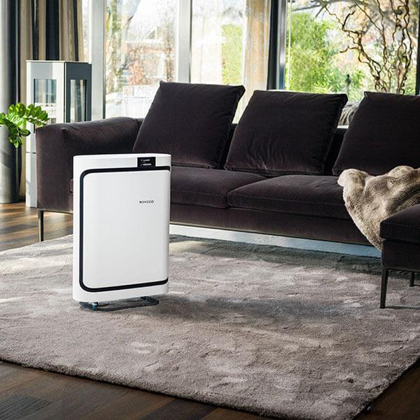 The P500 air purifier looks great in any room!