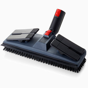 Brio PRO 1000CC Steam Cleaner includes a Rectangular Floor Brush for Carpets and Hard Floors