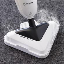 Load image into Gallery viewer, The Steamboy PRO 300CU steam floor steamer and scrubber cleans and sanitizes carpets.