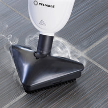 Load image into Gallery viewer, The Steamboy PRO 300CU floor scrubber easily cleans and sanitizes tile and grout.