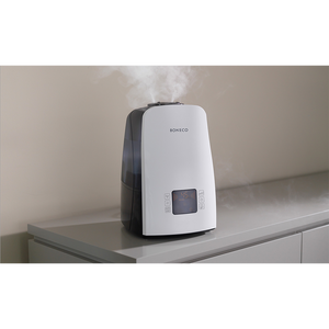 Enjoy comforting warm mist or soothing cool mist with the U650 humidifier