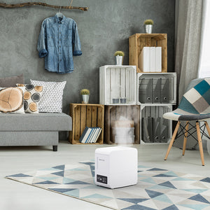 BONECO S250 Steam Humidifier looks great in any room.