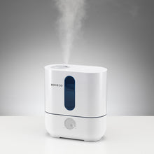 Load image into Gallery viewer, BONECO AOS U200 ultrasonic room humidifier provides soothing cool mist