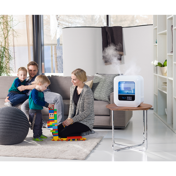 Humidify your indoor air with the U700 ultrasonic humidifier by Boneco.