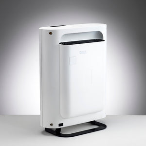 Boneco P-400 Air Purifier features a sleek, modern design with a low footprint