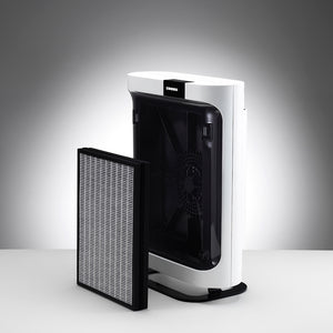 The P-400 Air Purifier Filter is Easily Accessible.
