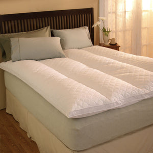 Pacific Coast Euro Rest Feather Bed is Luxurious and Comfortable.
