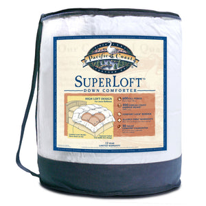 Pacific Coast® Super Loft™ Down Comforter - Available in 3 Sizes
