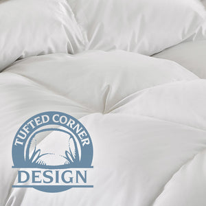 Pacific Coast® Super Loft™ Down Comforter - Tufted Corner Design
