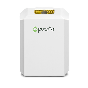 pureAir SOLO Personal Air Purifier provides clean, fresh & pure air for your personal breathing zone.