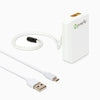 pureAir SOLO Personal Air Purifier with Included Accessories - Breakaway Lanyard & Micro USB Charging Cord