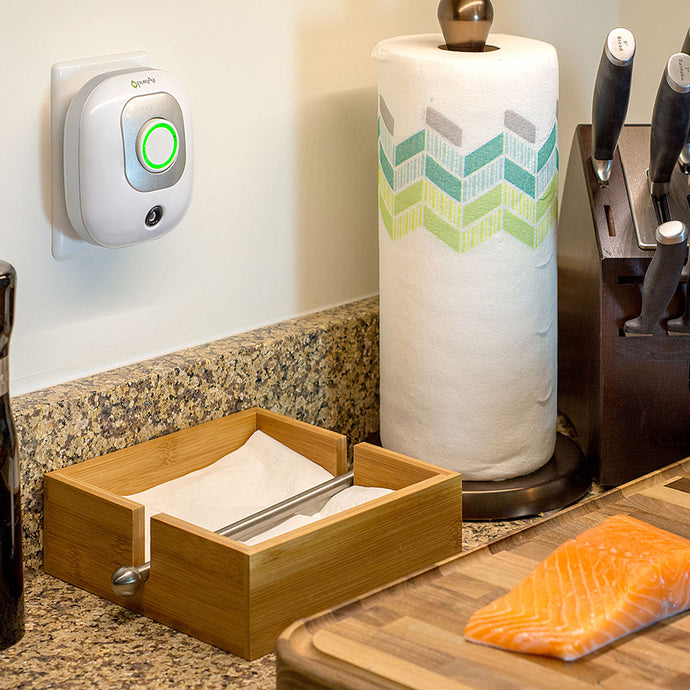 pureAir 50 Small Plug-in Air Deodorizer and Purifier in the Kitchen