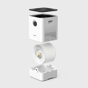 Easy to Use Design in the W200 Air Washer & Humidifier