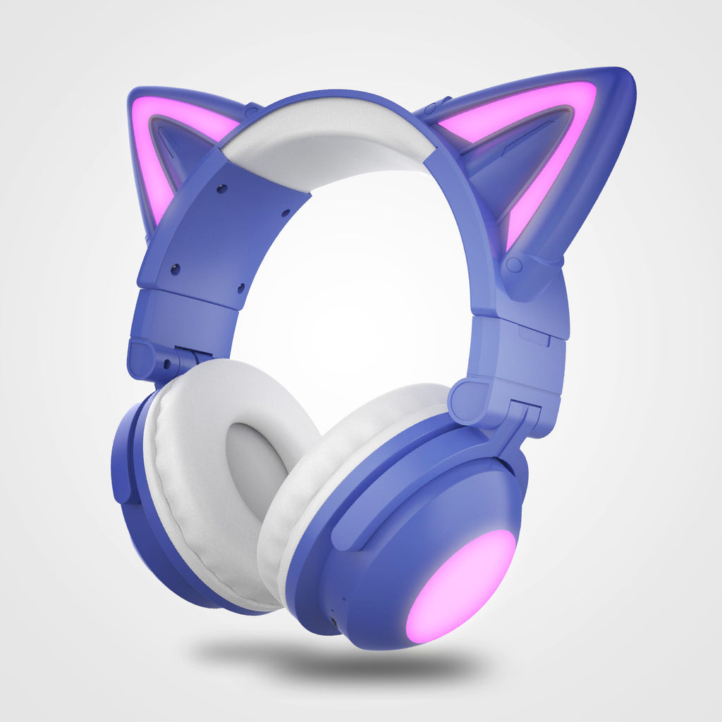 New Products at Felini Cat Shop - image of cute cat headphones headband on beautiful woman