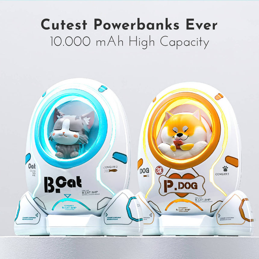 Kitty Power Bank | High Capacity 10.000 mAh