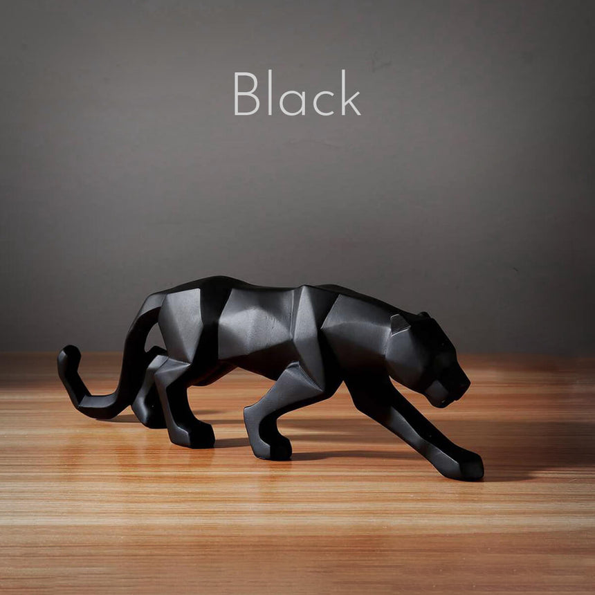 Powerful Panther | Luxury Divine Cat Art Statue