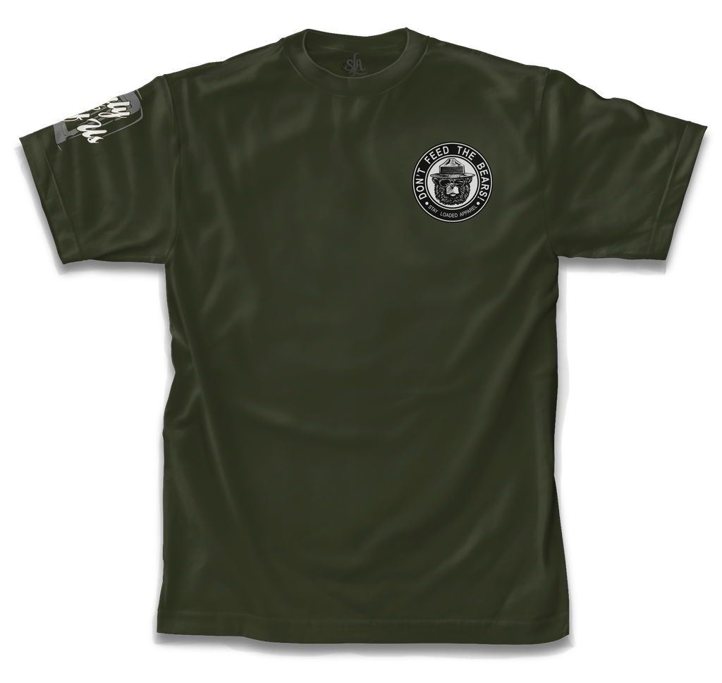Don't Feed The Bears - Military Green
