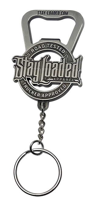 Stay Loaded Logo Bottle Opener