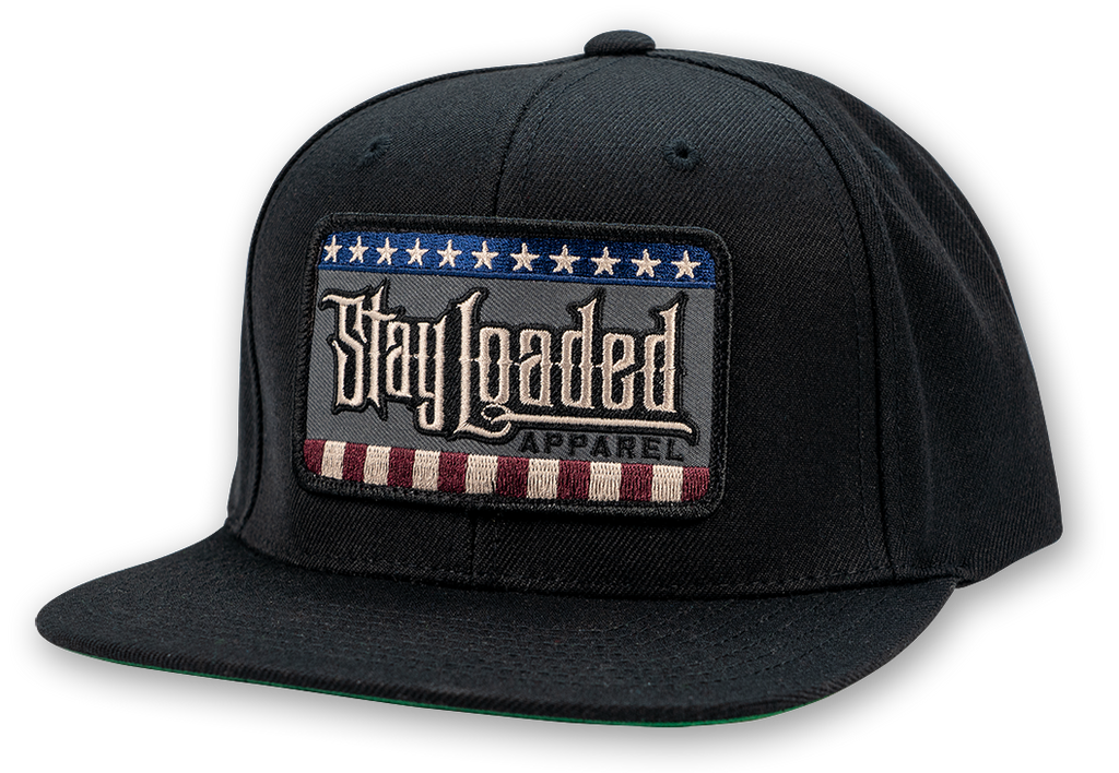 STAY LOADED Stars and Stripes Hat - RWB