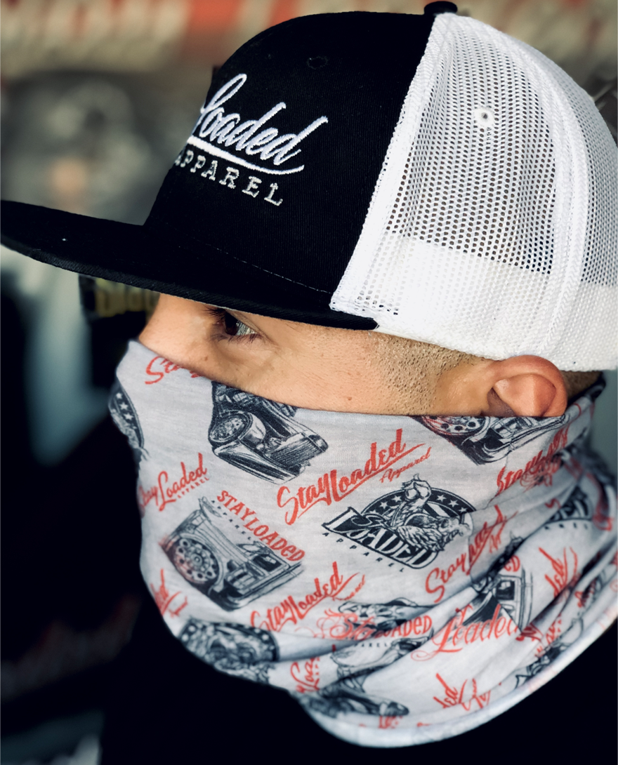 Stay Loaded Gaiter - NEW Pattern Print