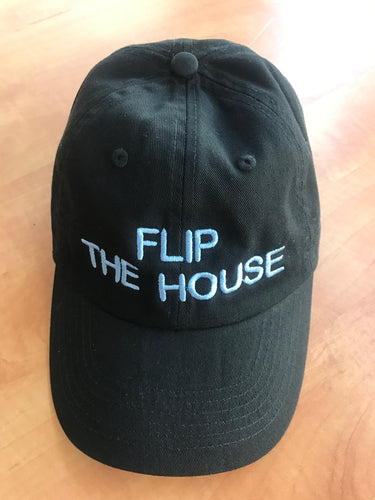 Flip the House Baseball Cap Blue