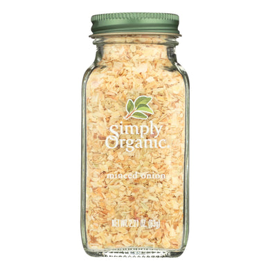 Simply Organic Onion - Organic - Minced - White - 2.21 Oz