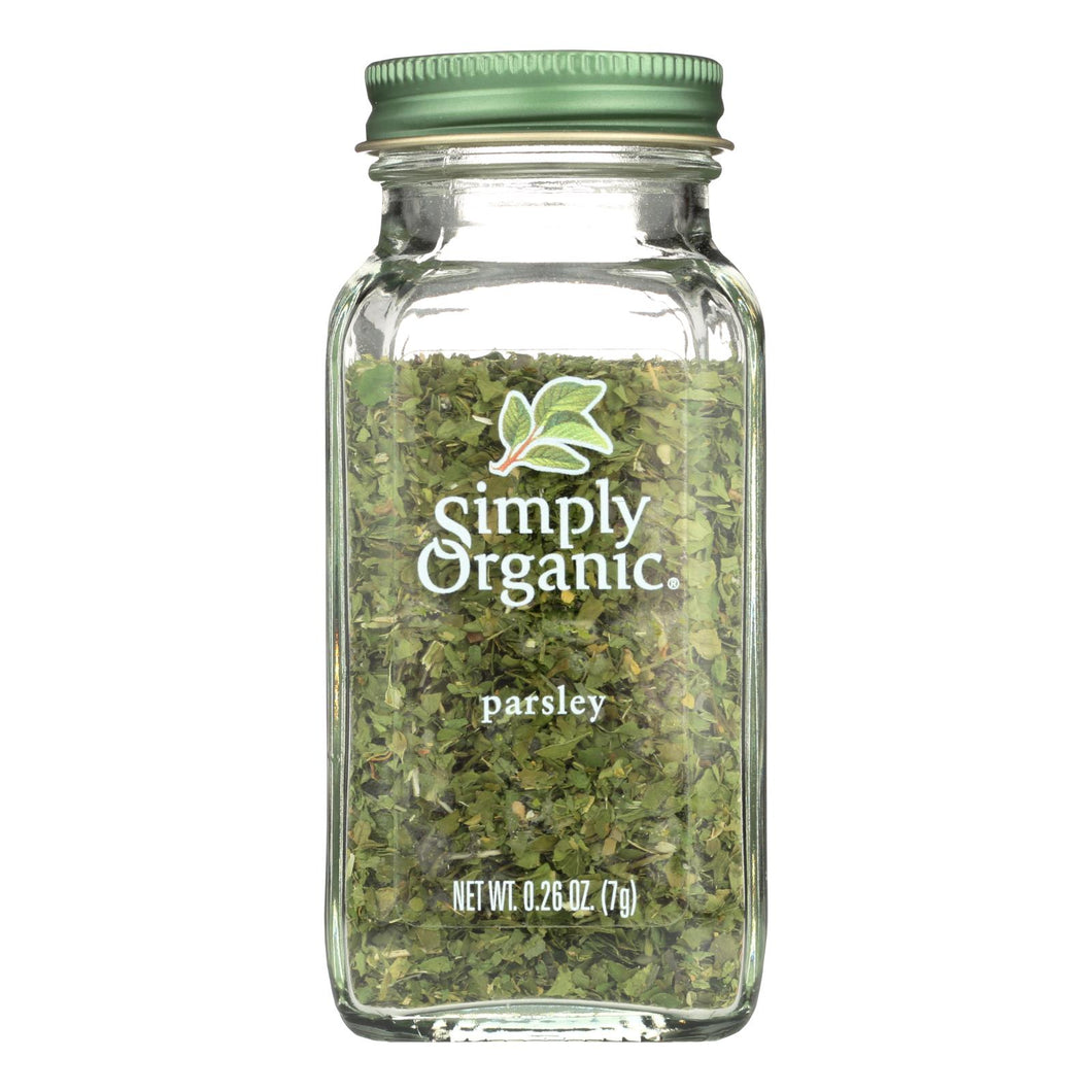 Parsley Flakes, Organic - 0.26 oz jar