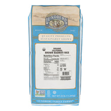Load image into Gallery viewer, Lundberg Family Farms Organic Rice - Brown Basmati - Case Of 25 Lbs