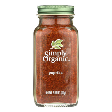 Simply Organic Paprika - Organic - Ground - 2.96 Oz