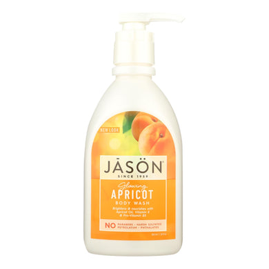 Body Wash, Apricot - 30 oz