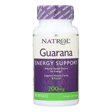 Load image into Gallery viewer, Guarana Supplements - 90 200-mg capsules