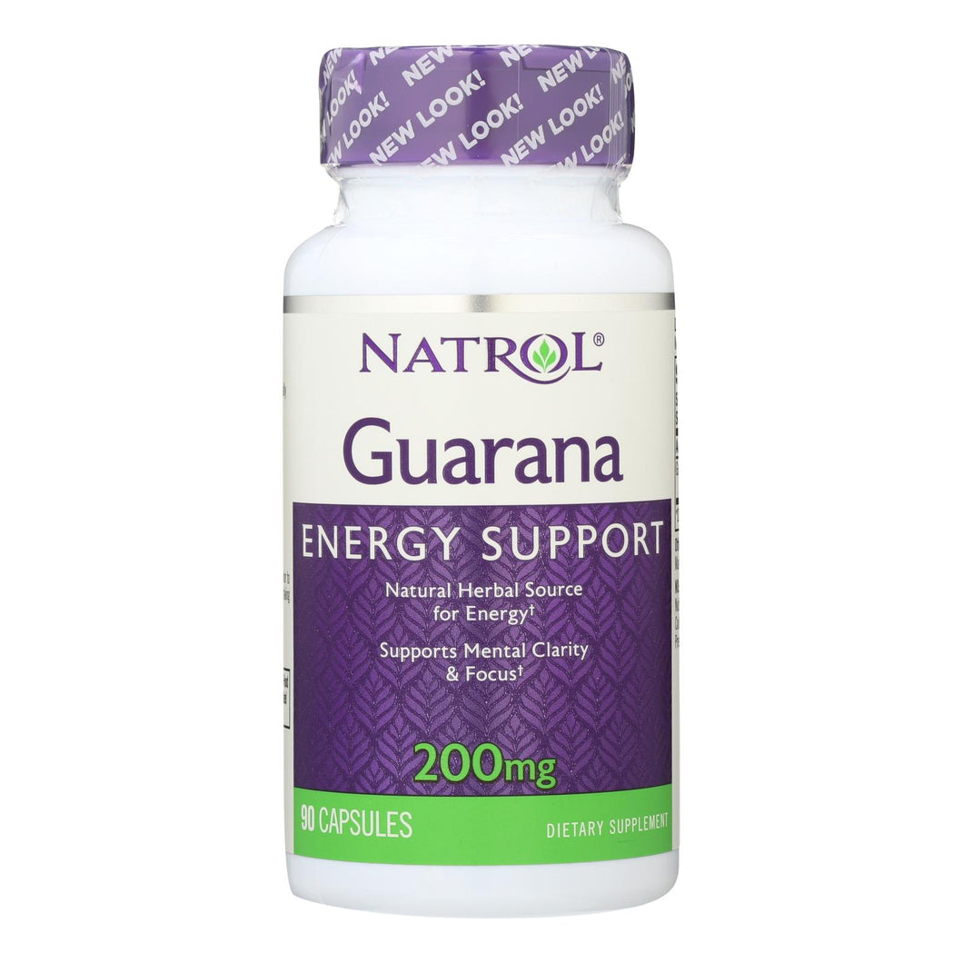 Guarana Supplements - 90 200-mg capsules