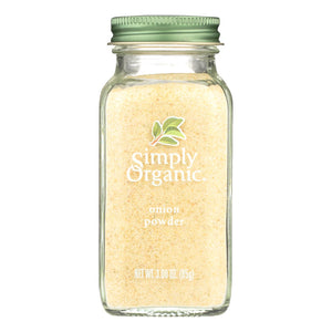 Onion Powder, Organic - 3 oz jar