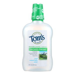Natural Mouthwash, Mint - 16 oz