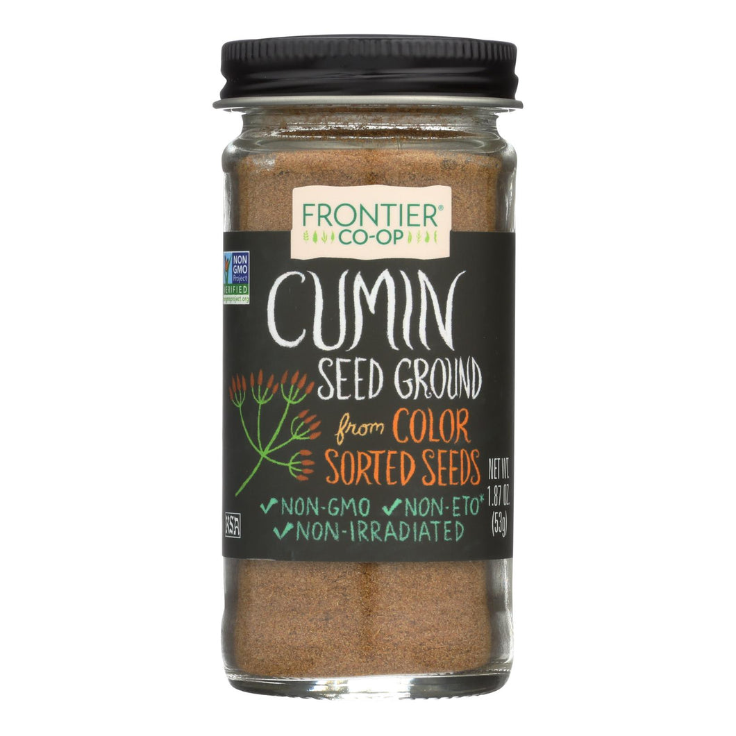 Frontier Herb Cumin Seed - Ground - 1.87 Oz