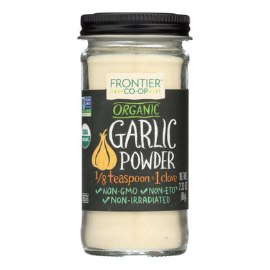 Garlic Powder, Organic - 2.33 oz jar