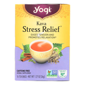 Stress Relief Tea - Pack of 6 16-bag boxes