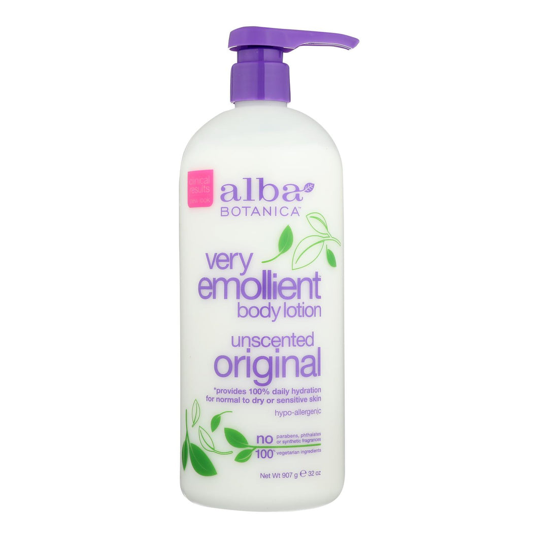 Emollient Body Lotion, Unscented - 32 oz