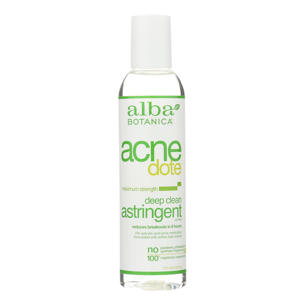 Deep Clean Astringent - 6 Oz