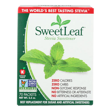 Stevia Sweetener - 70 Packets