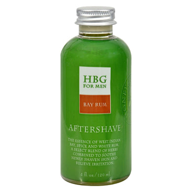 Aftershave, Bay Rum - 4 oz