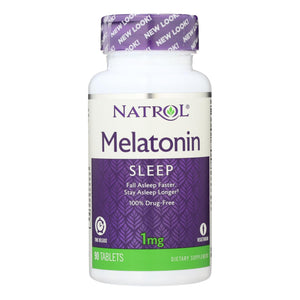 Melatonin, Time Release - 90 1-mg tablets